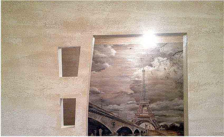 Подготовка поверхности под роспись стен.